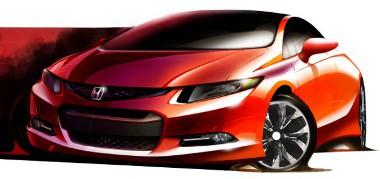 Kup�-tanulm�nnyal kezdi a bemutatkoz�st az �j Honda Civic