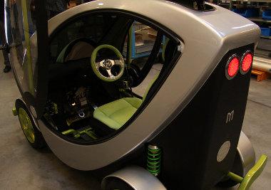 Csak egyszem�lyes a Micron elektromos aut�