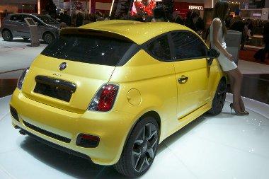 Limit�lt sz�ri�ban gy�rtani fogj�k a Fiat 500 Zagato-t