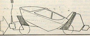Front�lis �tk�z�sn�l az er� a 11. sz. �tk�z�pajzsot �ri. A kocsi alakja pedig az elk�pzel�s szerint a rajzon l�that� m�don v�ltozik