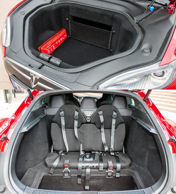 Ne keress�nk motort el�l sem, itt egy 150 literes csomagtart�t tal�lunk. Sz�ks�g�l�sek a csomagtart�ban, amerikai m�di szerint menetir�nynak h�ttal