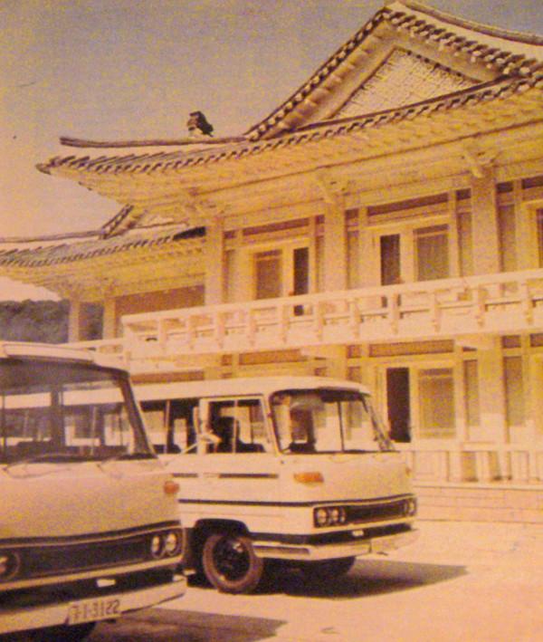 Jellegzetes st�lusban �p�lt a Mjohjangszan Hotel