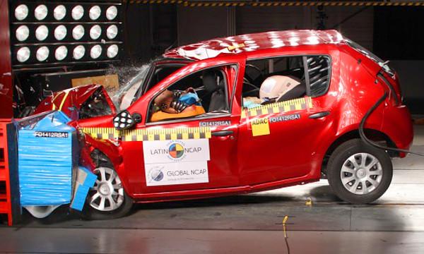 L�gzs�k n�lk�l forgalmazz�k a Sandero-t D�l-Amerik�ban, sz�val arrafel� nem az eur�pai biztons�gi szintet ny�jtja a Renault