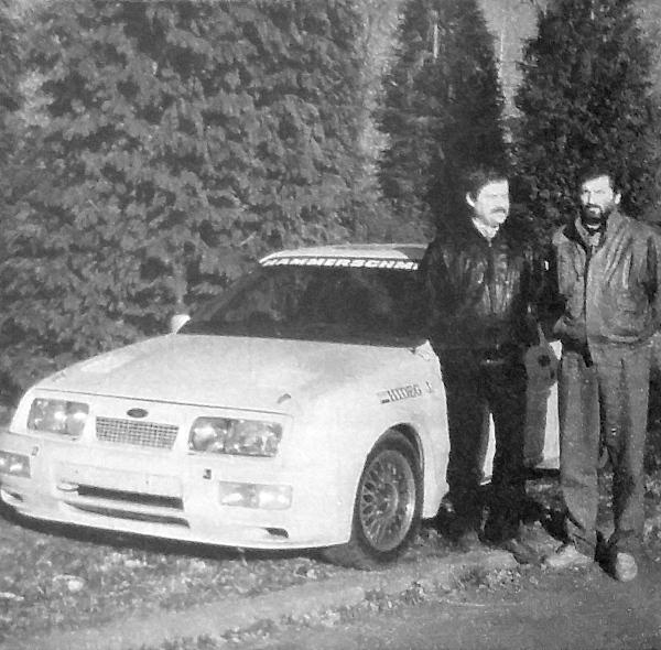 Hideg János (38) és Kecskeméti Zoltán (38) új versenygépük és 8. közös évadjuk előtt